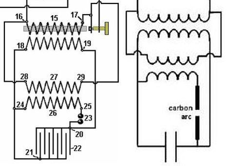 Image: Comparing the different tank circuit versions of Benitez patent 14311, Switch 5...