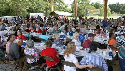 Image: 2016 Senior Citizen Labor Day Picnic in Pinehurst, Tx. Photo by Tommy Mann Jr., therecordlive.com...