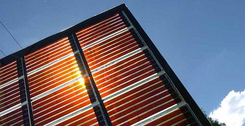 Image: Perovskite solar panel, from Focus on: Perovskite solar, Energy Source & Distribution, 3/18/2016...