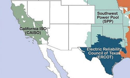 The CAISO (California Independent System Operator) runs the state power grid...